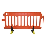 Avalon Crowd Control Plastic Barricade Orange No Sheeting