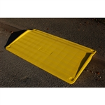 "SafeKerb Ramp  - Yellow for curb heights from 3"" to 6.3"""