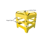 Safegate Manhole Guard Replacement Locking Clamp