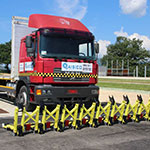 Temporary Vehicle Barrier MVB3X 3rd gen - Mifram