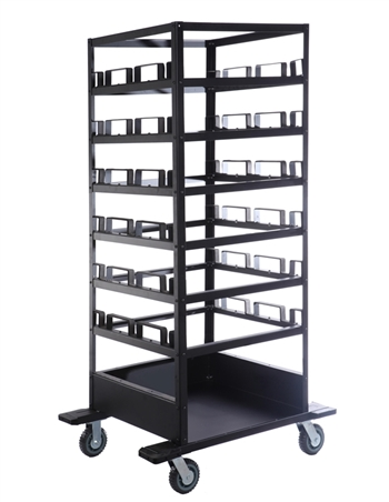 18 Post Storage Cart 2.5 diam post