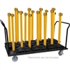 18 Post Vertical Storage Cart