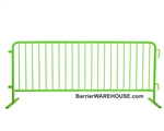 Crowd Control Steel Barricade - Green