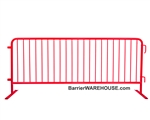 Crowd Control Steel Barricade - Red