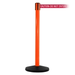 SafetyMaster 450, Orange, Barrier with 11' CAUTION-DO NOT ENTER - RED Belt