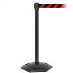 WeatherMaster 250, Black, Barrier with 11' Red/Black Diagonal Belt