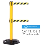 WeatherMaster 300 Twin - long 16' ft. double belt barrier