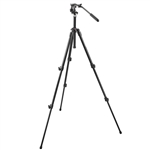 Manfrotto mini Black 190XDB + 700RC2 Tripod Kit