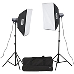 Metz 2 Studio Light Kit
