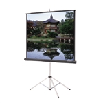 Da-Lite Picture King 84 x 84 inches Matt white tripod Screen