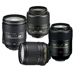 Renting Various lenses for Nikon Digital SLR cameras