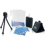 Zeikos 6 piece Camera Kit W/flexible tripod