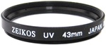 Zeikos 43mm UV Filter