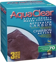 Aqua Clear 70 (300) Carbon, 3 pack