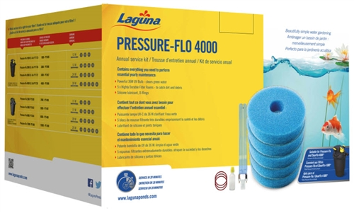 Laguna Pressure Flo Service Kit For PT1728,  PT1698
