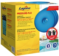 Laguna Replacement Foam for Pressure-Flo 700 & 1000 (Pack of 3) PT1735