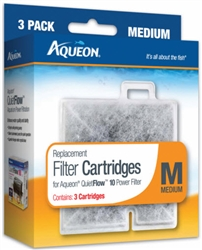 Aqueon Filter Cartridge Medium 3 Pack