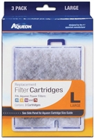 Aqueon Filter Cartridge Large 3 PACK