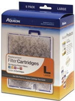 Aqueon Filter Cartridge Large 6 PACK