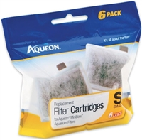 Aqueon Filter Cartridge Small 6 PACK