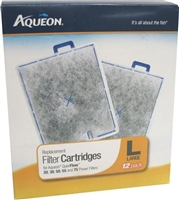 Aqueon Filter Cartridge Large 12 PACK