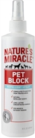 Nature's Miracle Pet Block Spray 16oz