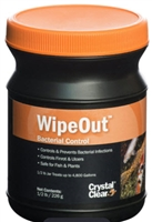 CrystalClear WipeOut - Bacterial Control 8 oz