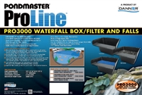 PONDMASTER  PRO 3000 WATERFALL BOX ITEM# 02481