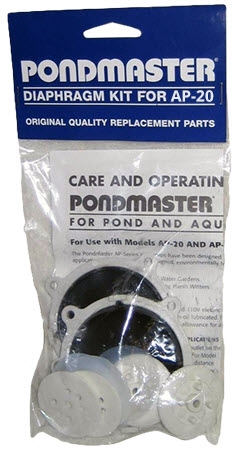 Pondmaster  Diaphragm Kit for AP-20  14525