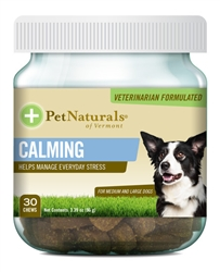 PET NATURALS CALMING FOR MEDIUM & LARGE DOGS