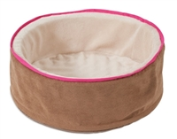 "Petmate Deluxe Cuddle Cup Bed  17"" L x 17"" W x 6"" H"