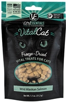 VITAL ESSENTIALS Wild Alaskan Salmon Freeze-Dried Treats 1.1 OZ