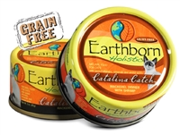 Earthborn Holistic Catalina Catch Mackerel Dinner with Shrimp in Gravy for Cats 24-3oz cans