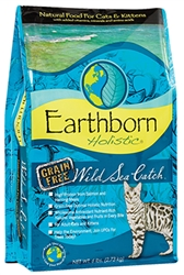 Earthborn Holistic Wild Sea Catch dry cat food