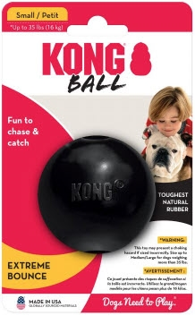 KONG Extreme Ball Medium Large, dogs size 15-65 lbs