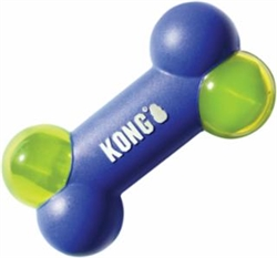 KONG Squeezz Action MEDIUM dog bone toy PSAB21