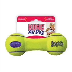 KONG Squeakair Dumbbell Small Toy for Dogs Small  ASDB3