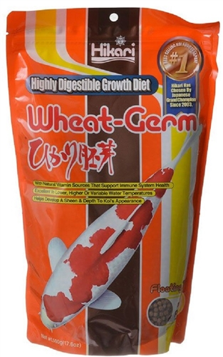 Hikari Wheat Germ Small Mini Pellet #06242  17.6oz