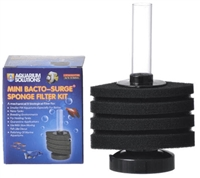 Hikari Mini Bacto-Surge Sponge Filter Kit