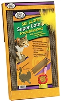 Four Paws Ski Slope Catnip Scratching Post