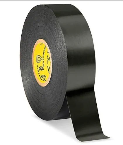 "3M 33+ Electrical Tape - 3/4"" x 66', Black, 7 mil"