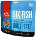 ORIJEN Freeze-Dried SIX FISH Treats for Dogs