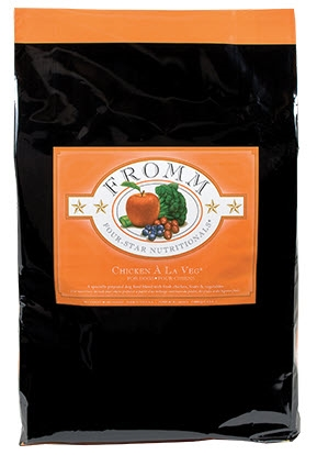 FROMM Four-Star Chicken A La Veg Dry Food for Dogs