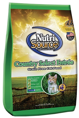 Nutri-Source Grain Country Select Entrée  Dry Cat Food 2.2 lbs