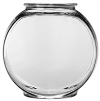 Anchor Hocking Drum Glass Fish and Terrarium Bowl 1 gallon