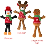 Ethical Holiday Sweater Plush Toy Reindeer  18""