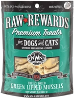 Northwest Naturals Green Lipped Mussels Raw Rewards Premium Treats for Dogs and Cats 2 oz