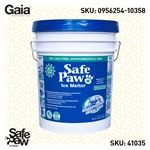 Safe Paw Ice Melt  35 lb. pail of Safe Paw, Non-Corrosive, Pet Safe Ice Melt - Safe Paw