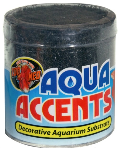 ZooMed Aqua Accents Midnight Black Sand .5 lb