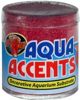 ZooMed Aqua Accents Radical Red Sand .5 lb